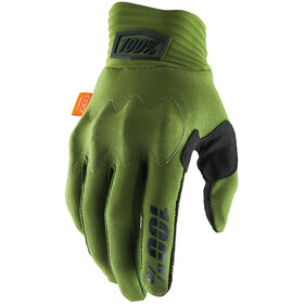 100% Cognito Gloves army green/black
